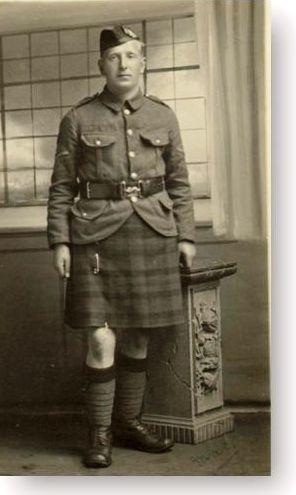 3226 Pte George Smith McNab 5th Gordon Highlanders
