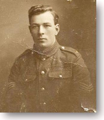 2677 Sgt Fred McKenzie 5th Gordon Highlanders