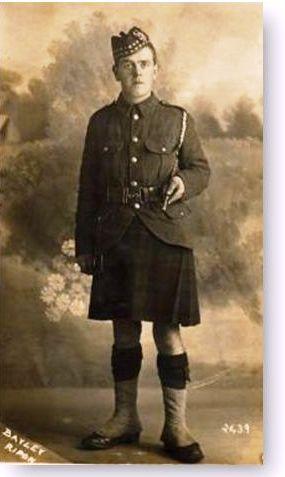 2/Lt John Dean Riddel 5th Gordon Highlanders